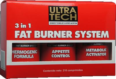 3 in 1 Fat Burner System
